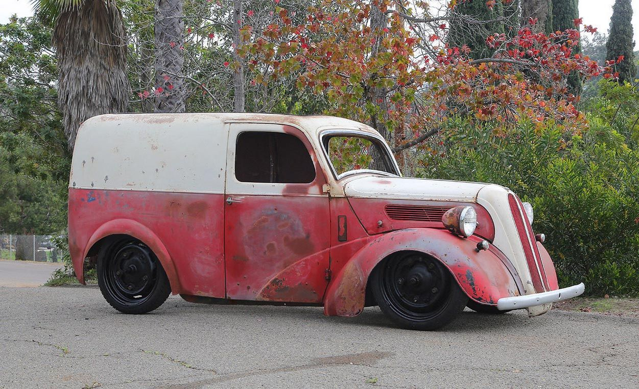 1951 Ford Thames Panel Van Cool Trucks Van For Sale