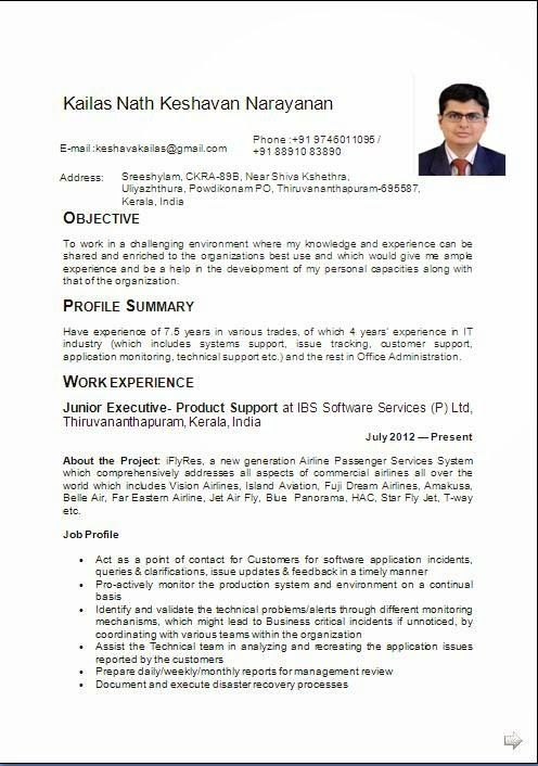 Administrative assistant resume example sample template example administrative assistant resume example sample template example ofexcellent curriculum vitae resume cv format with yelopaper Images