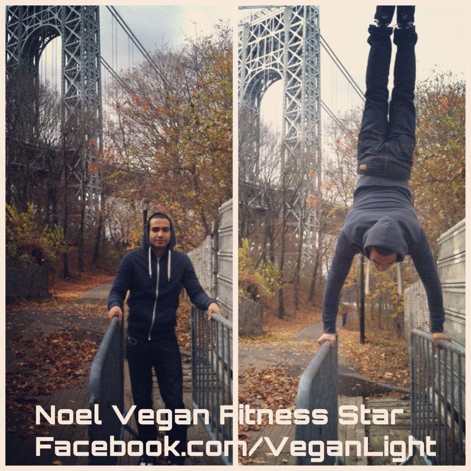 """Follow Me And Like My Page: Facebook.com/VeganLight  Follow Me On Instagram: @VeganLight web.stagram.com/n/veganlight/  Follow Me On Twitter: twitter.com/da_1sinister  My Workout Videos: YouTube.com/da1sinister1  Noel Vegan Fitness Star - Vegan Health and Fitness advocate, defender of animal rights.  """"Ser vegano no asegura que los animales vivirán. Sin embargo, sí asegura que tu no seas la razón por la cual ellos mueren."""""""