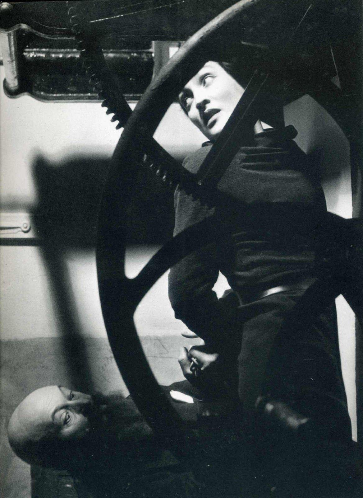 Man Ray - Wheel Portrait