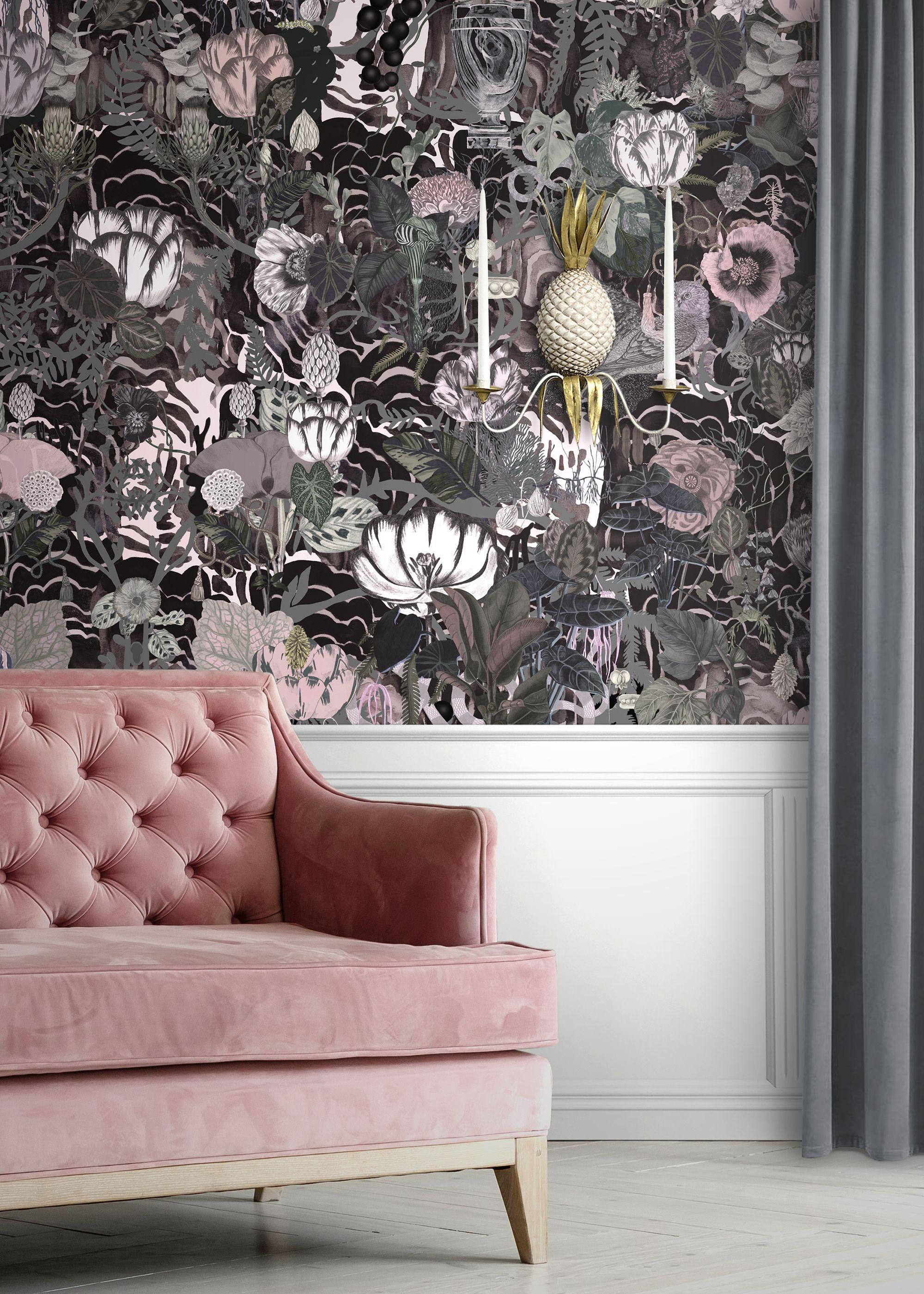 Big Edie Blush Classic Top Quality Wallpaper Blush Wallp
