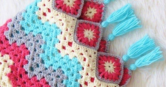 How To Crochet A Ripple Afghan Free Crochet Pattern Sun Room