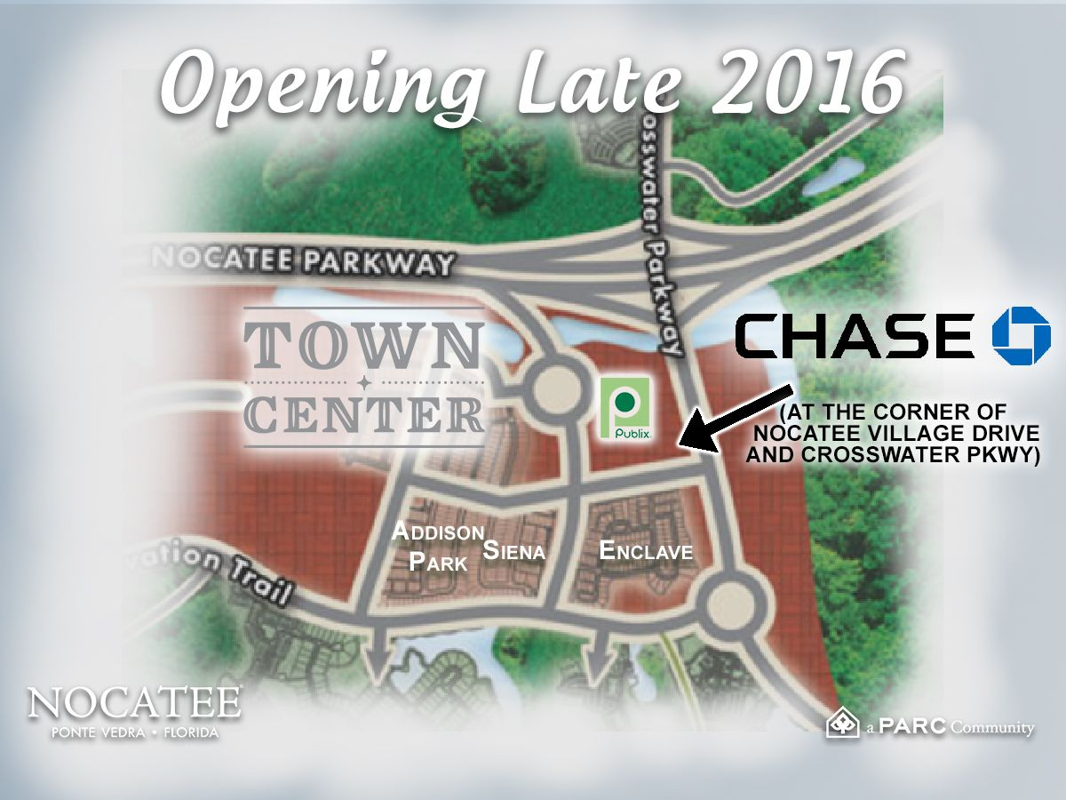 Chase Bank is opening a new branch location at Nocatee ...