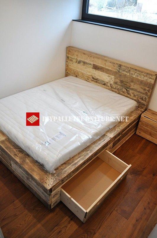 Camas con palets camas para perros con palets with camas - Como hacer sillon de palets ...