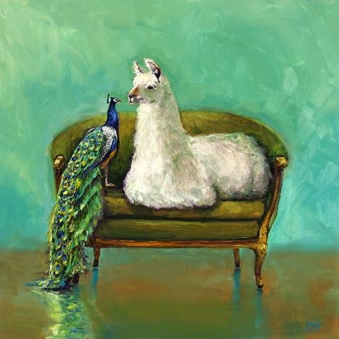 Lovely In Living Color, Painting By Artist Kimberly Applegate