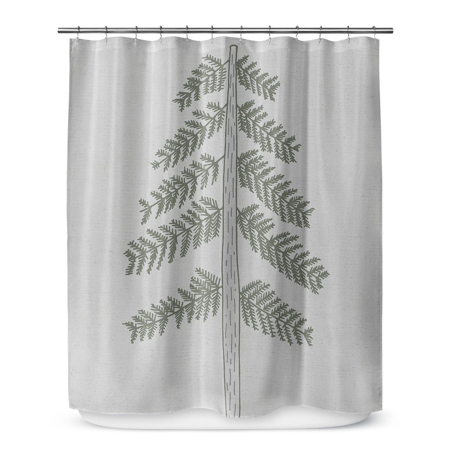 Kavka Designs Tree Shower Curtain