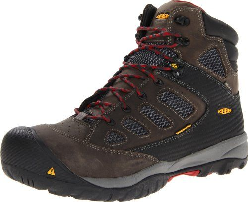 Keen Utility Men S Tucson Mid Work Boot Magnet Chili Pepper 12 Ee Us Work Boots Boots Western Cowboy Boots