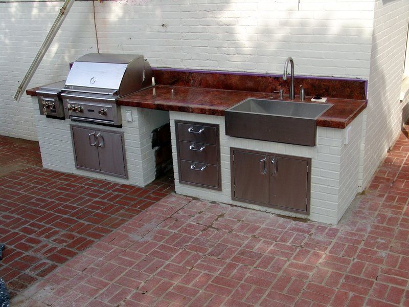 Pin by Emerald Coast Stone Creations on Outdoor Kitchens ...