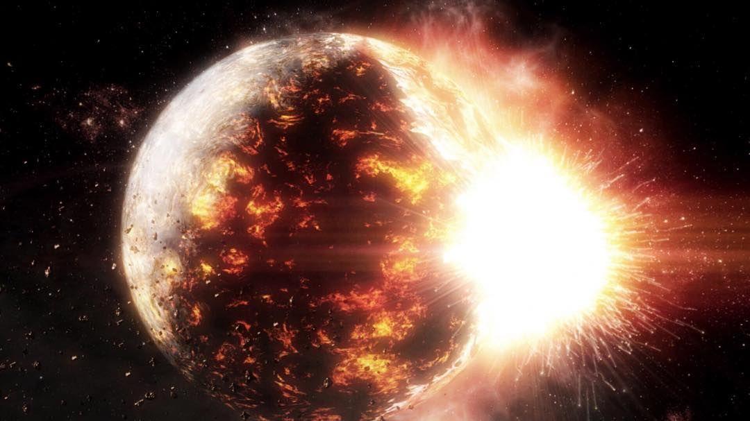 provocative-planet-pics-please.tumblr.com Wie entstand die Sonne? #throwback Schwerkraft und Rotation formten aus einer dünnen Staub- und Gasschicht innerhalb von 700 Millionen Jahren eine flache Scheibe. Durch den Einfluss einer Supernova verdichtete sich Materie und bildete die Sonne sowie die Planeten. Die #N24-Dokumentation Geheimnisse des Weltalls: Das Sonnensystem entsteht zeigt die Entstehung unseres 46 Milliarden alten Sonnensystems und erklärt warum die Anordnung der Planeten das…