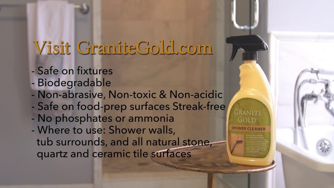 Safely DeepClean Stone Showers How to clean granite