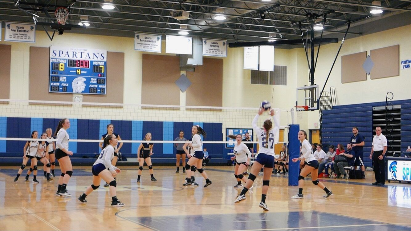 Pin By Sarah Mcgovern On Volleyball Volleyball Basketball Spartans