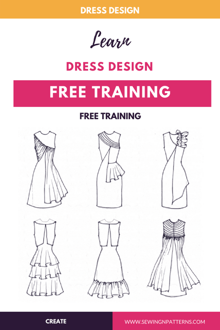 Learn How To Design Your Own Clothes Sewing Design Your Own