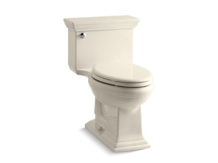 Kohler K 3813 Memoirs Stately Comfort Height Elongated 1 28 Gpf Toilet Kohler Kohler Memoirs One Piece Toilets Kohler