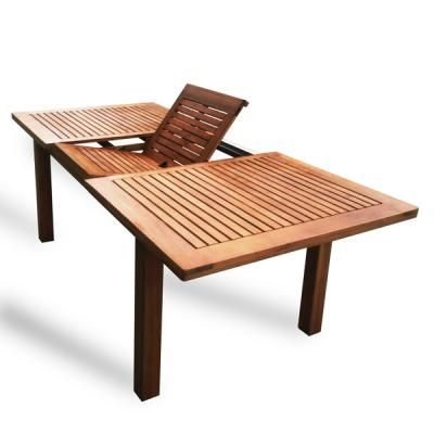 Deluxe Products Luxo Furniture Luxo Montague Timber Extendable Outdoor  Dining Table - Luxo Montague Timber Extendable Outdoor Dining Table House Stuff