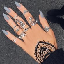 Photo of 12 Pieces Bohemian Rings Set