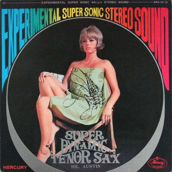 Sil Austin Super Dynamic Tenor Sax Vinyl Lp Album At
