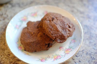 Giant Double Chocolate Chip Cookies - This is a copy cat recipe of the Levain Bakery in Manhattan, NY!
