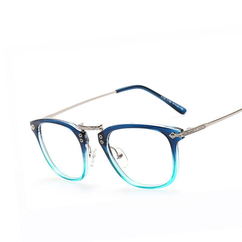 d6ca7066e7 Click to Buy << Vintage Glasses Frames for Women Men Gradient Eyeglasses  Frame Brand Myopia Eye Glasses Optical Plain Mirror Clear Lens Eyewear  #Affiliate. >>