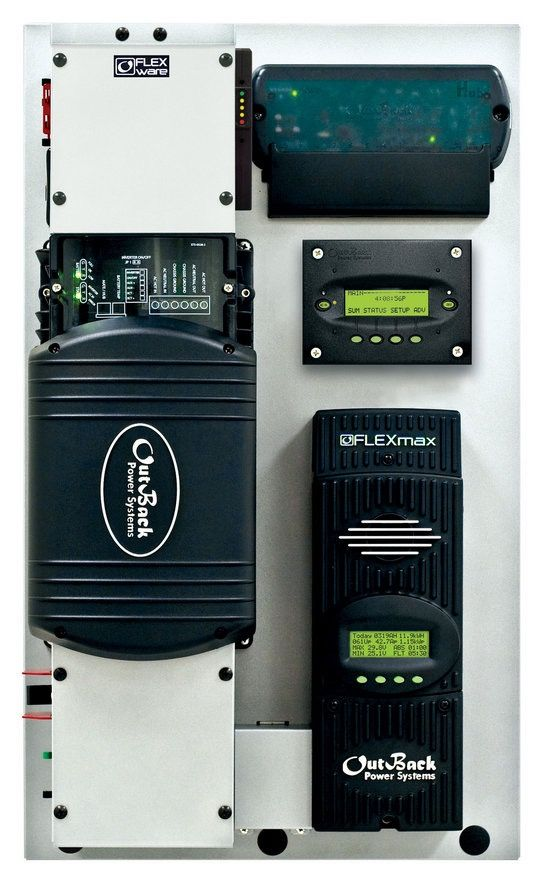 outback flexpower system complete solar energy system already outback flexpower system complete solar energy system already wired for you need batteries solar