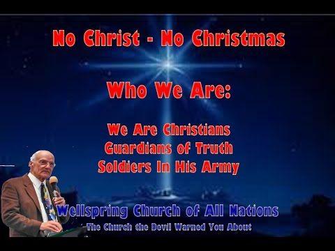 No Christ - No Christmas
