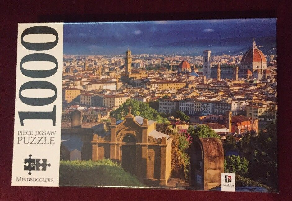 Florence Italy Jigsaw Puzzle 1000 Piece Sealed New Mindbogglers By Hinkler New Ebay Jigsaw Puzzles 1000 Jigsaw Florence Italy
