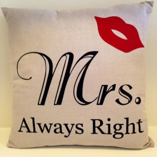 A Perfect Match With The Mr Right Cushion 45x45cm