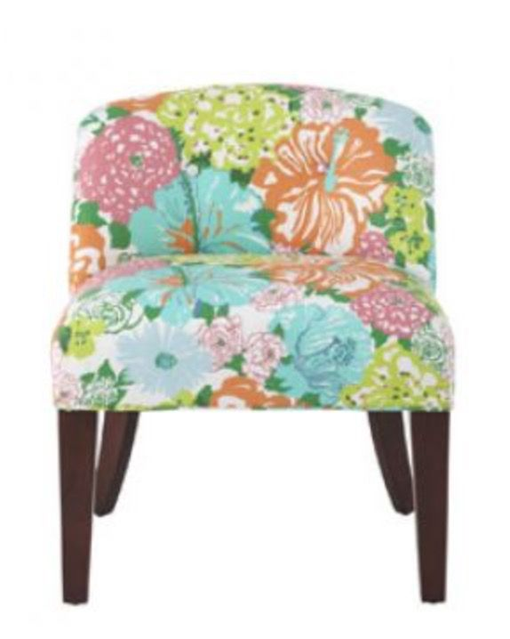 Bon Love This Amazing Chair! A Colourful Life: A Tribute To Lilly McKim Pulitzer  Rousseau From The Brand Lilly Pulitzer