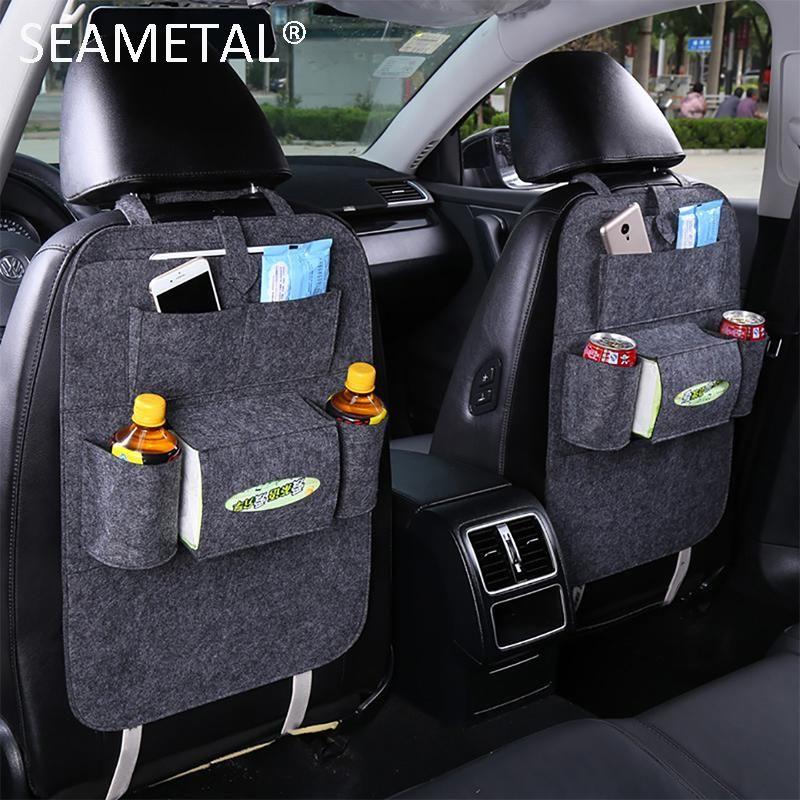 Visit To Buy Car Storage Bag Organizer Back Seat Universal Bags Backseat Trunk Travel