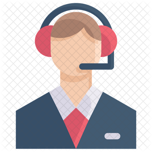 Customer Service Icon Of Flat Style Available In Svg Png Eps Ai Icon Fonts Icon Icon Font Graphic Resources
