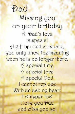 Happy Birthday Dad In Heaven Quotes Poems Pictures From Daughterb
