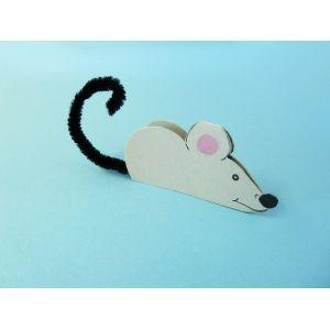 Pin von Cici auf Kunst in der Schule   Maus basteln, Basteln ...
