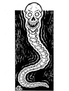 The Necrophidius from Fiend Folio - by Alan Hunter | Advanced dungeons and  dragons, Dungeons and dragons, Fantasy art