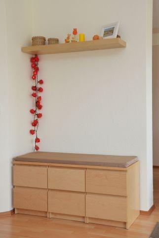 Bank aus Malm-Nachttischen Malm, Banks and Ikea hack - ikea sideboard küche