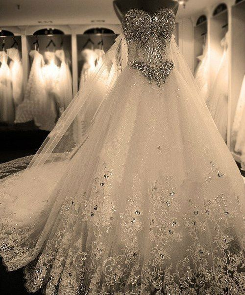 Beautiful Sparkley Wedding Dresses