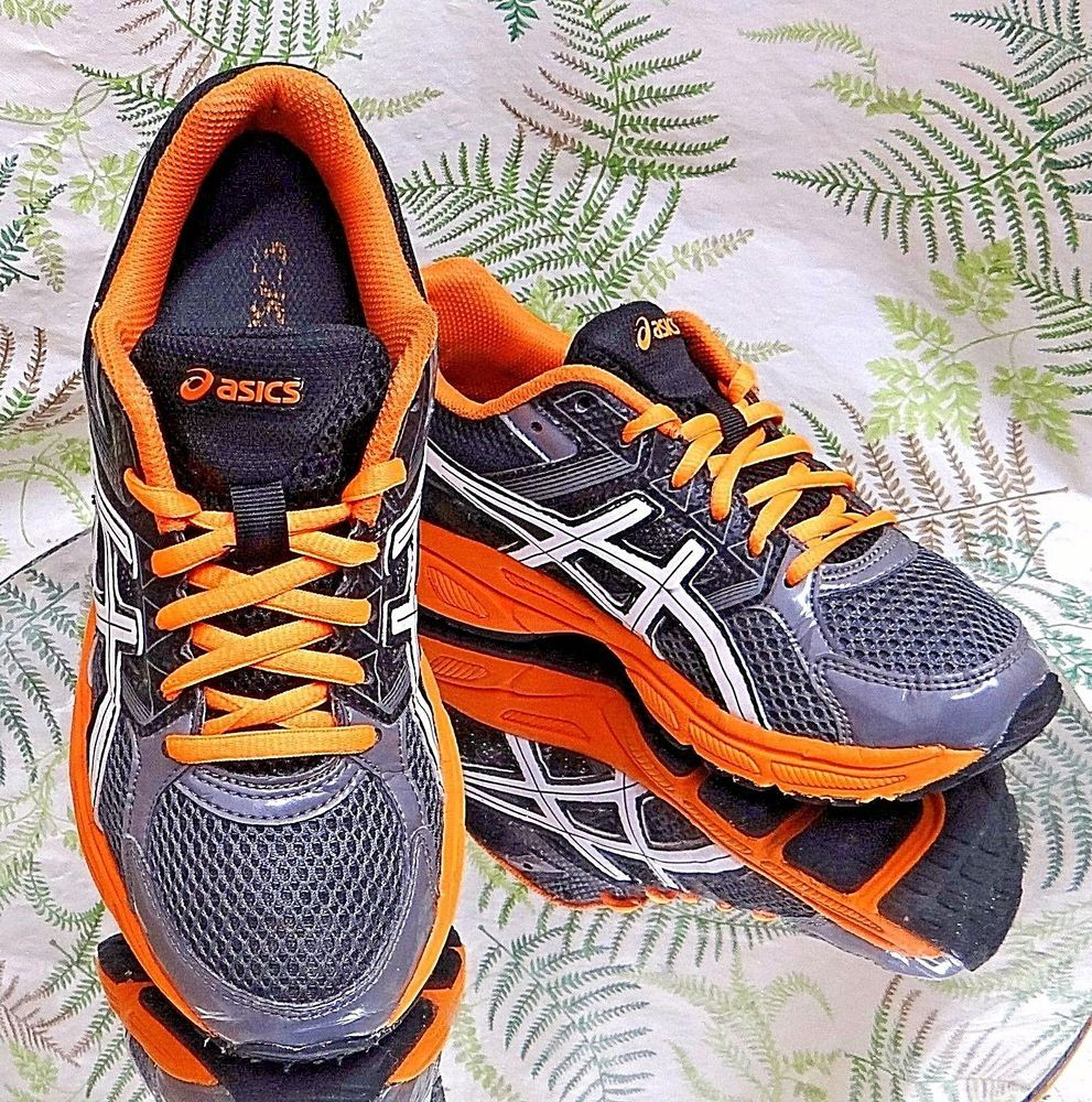 Asics gel contend 3 orange baskets orange gris chaussures baskets de gel travail confort de marche 4a587bc - propertiindonesia.site