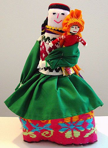 Mexican cloth doll