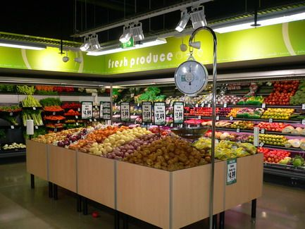 Supermarket Interior Design Do It All Online Redesigning The Of An Existing Is