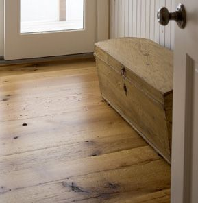 Reclaimed Ponderosa Pine Flooring Salvaged From Central