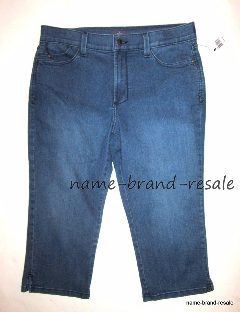 d9f6c03a9400d MASSINI NWT PULL ON Skinny JEGGINGS Jeans Womens PLUS 24W 24 3X Capri Ankle  Dark  Massini  SkinnyPullOn