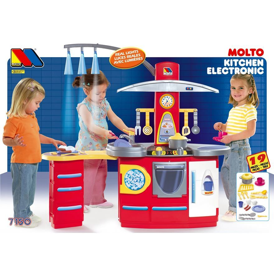 Cozinha Com Luz Kitchen Electronic