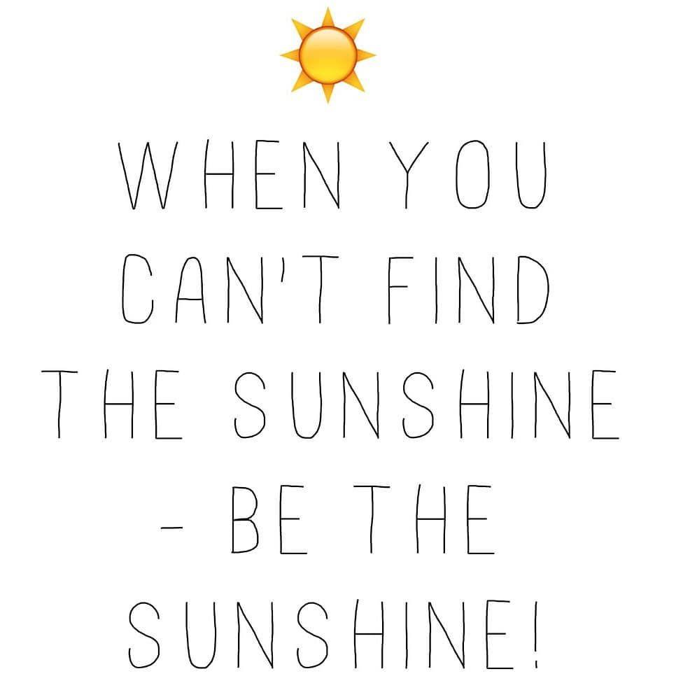 Show me the sunshine