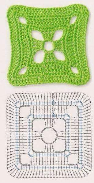 Luty Artes Crochet Quadrados De Crochê Com Gráficos Quadrados De Croche Quadradinhos De Croche Padrões De Quadrados De Crochê