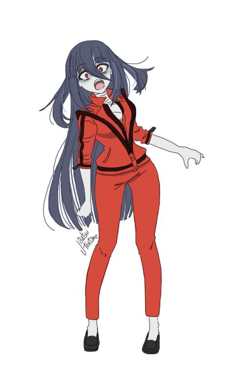 (๑°ㅁ°๑)‼ in 2020 Anime zombie, Zombie girl, Cute zombie