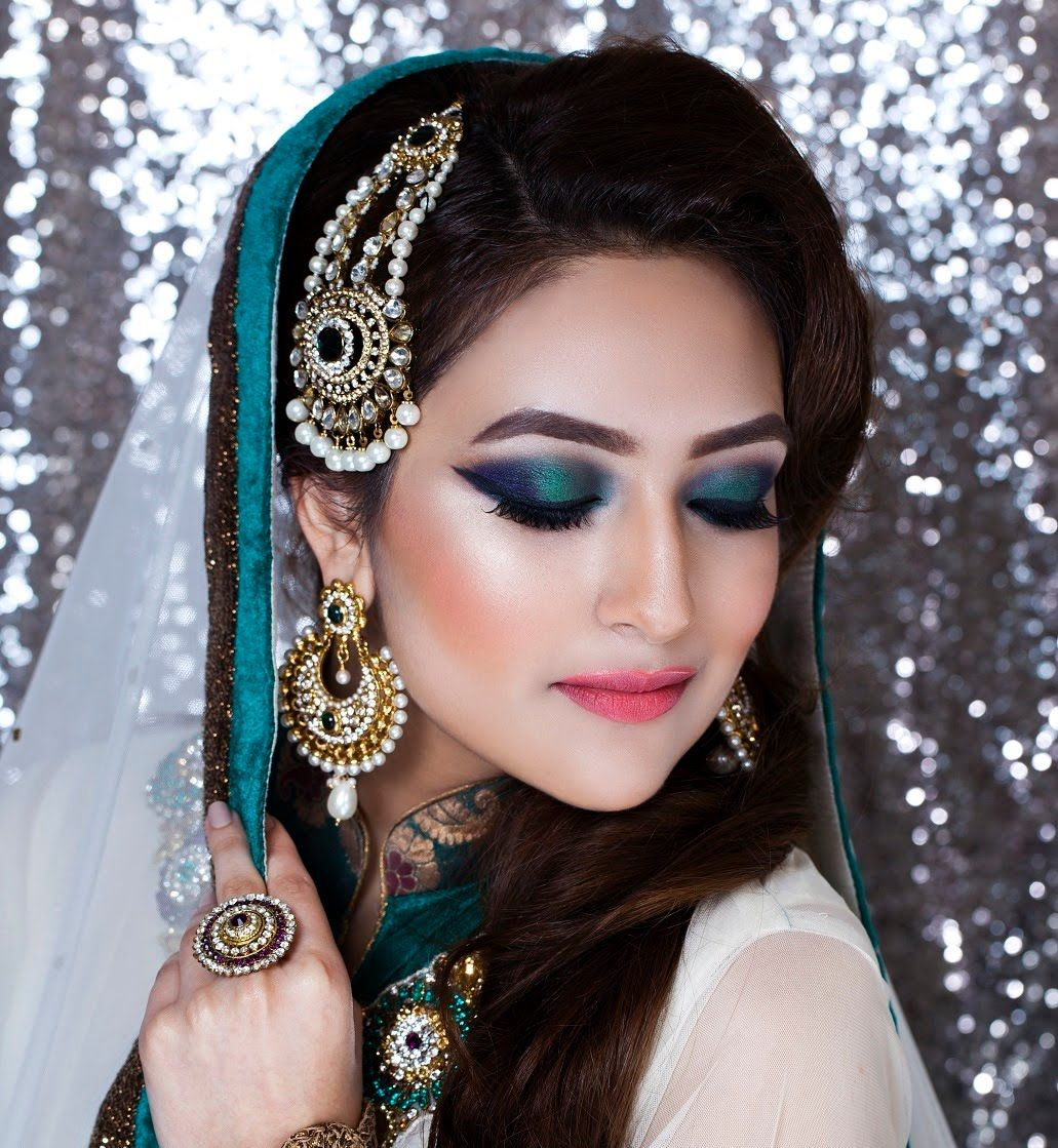 Zoebia Majeed mua ,Asian /Pakistani nikkah bridal makeup