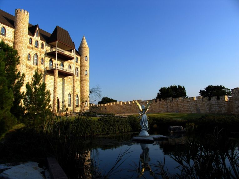 Castle In The Texas Hill Country Falkenstein Wedding Is Located Between Burnet And Marble Falls Five Miles Northeast Of Kingsland