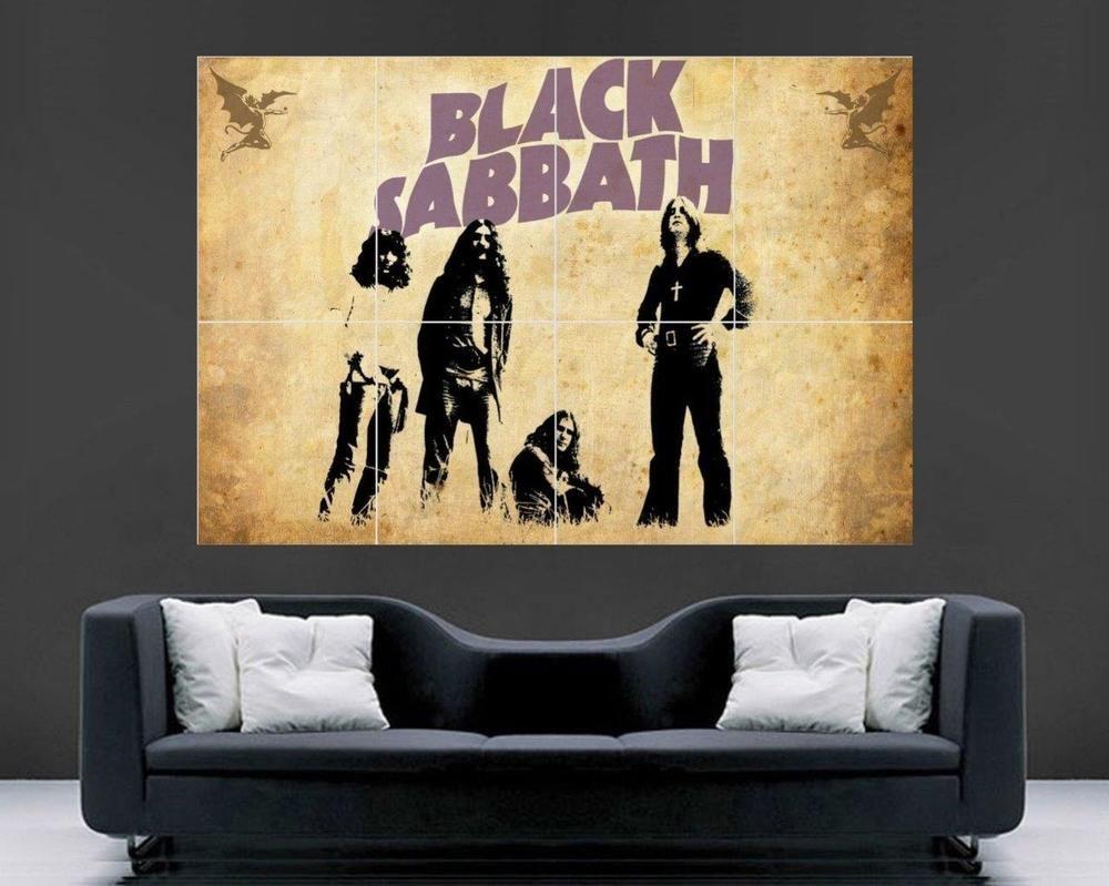 Black Sabbath Poster Large Wall Art Print 43 x 29 New | Stuff to Buy ...