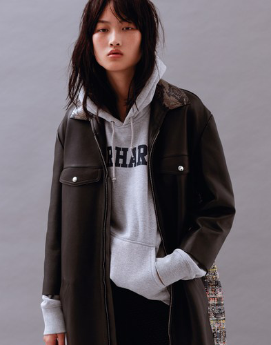 """degarcons: """"  jing wen for t magazine china december 2015 by liu song """""""