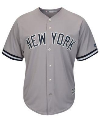 05e869ba9 Majestic Men's Giancarlo Stanton New York Yankees Player Replica Cool Base  Jersey - Gray XXL