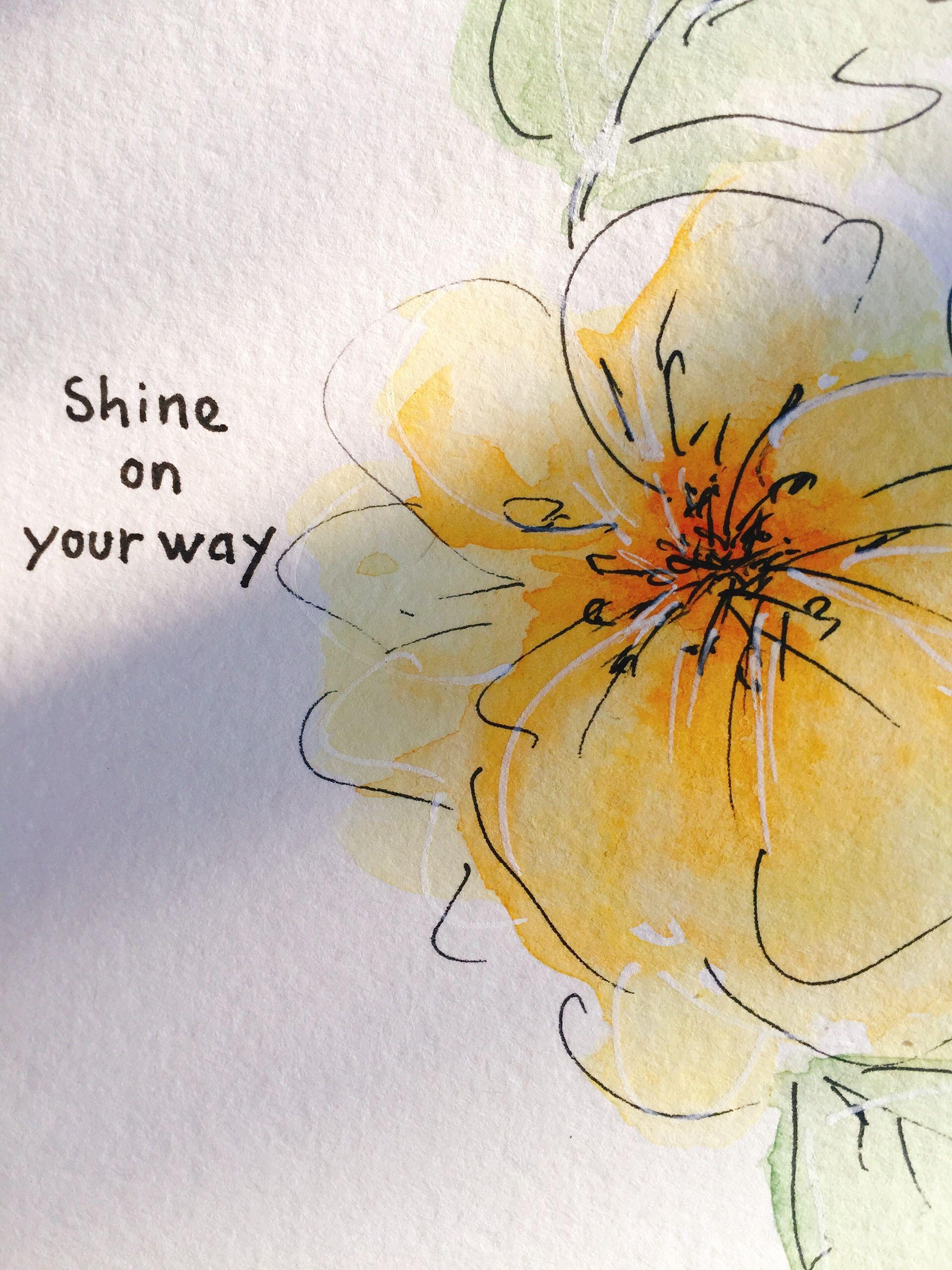 Easy loose floral painting watercolor paintings easy