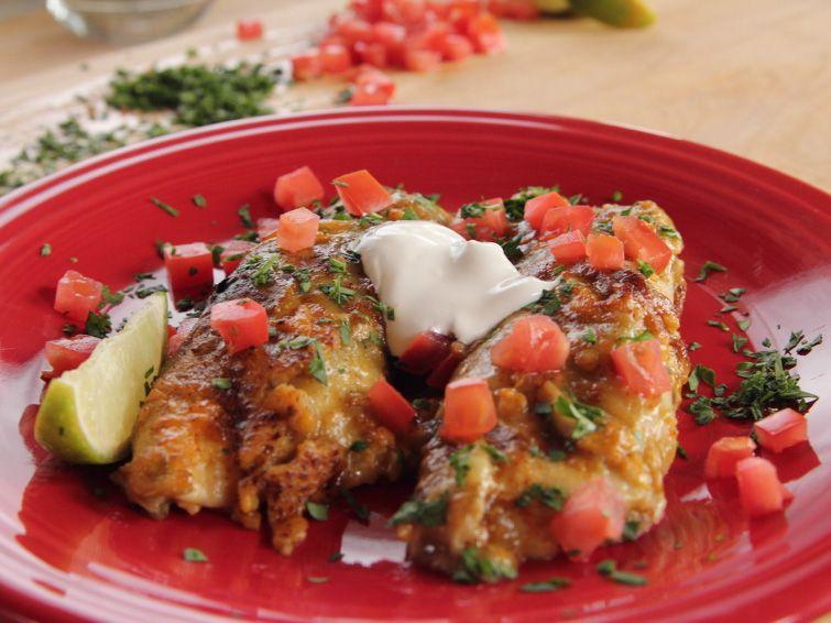 Chicken Enchiladas Recipe Cooking Pinterest Chicken